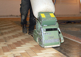 watch sander floor machines sanding youtube homemade